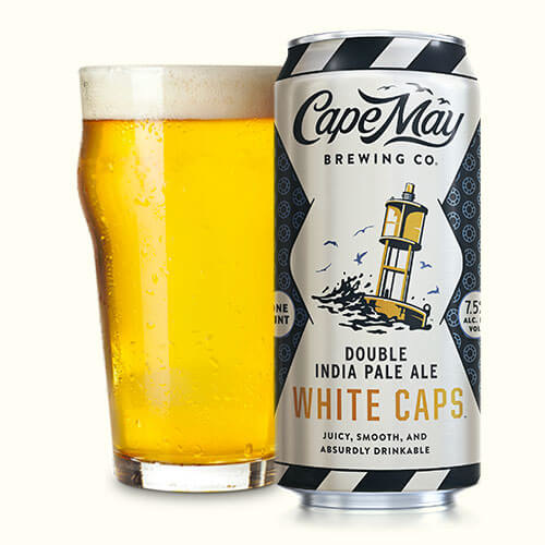 Cape May White Caps Double IPA (4pk 16oz cans)