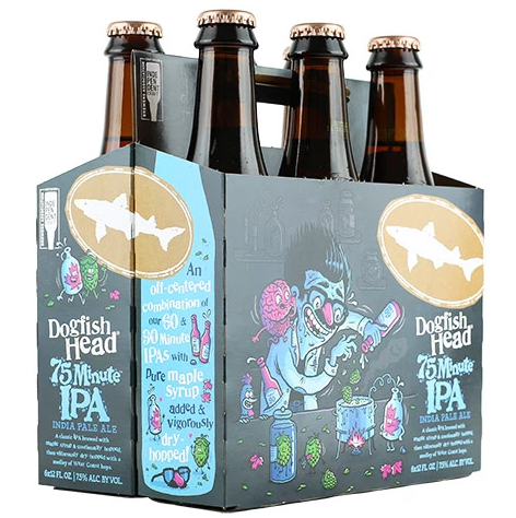 Dogfish Head 75 Minute Ipa (6pk 12oz bottles)