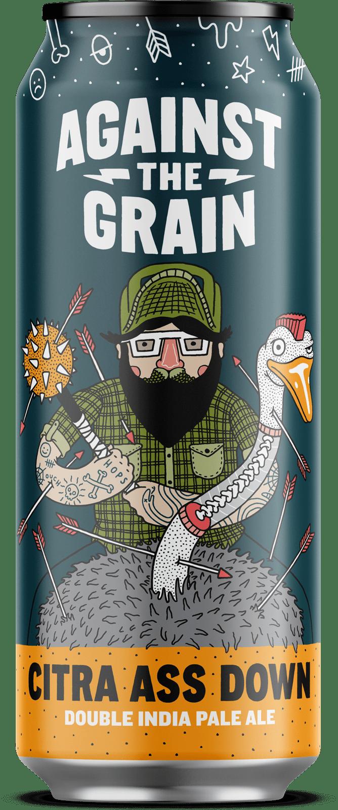 Against The Grain Citra Ass Down (4pk 16oz cans)