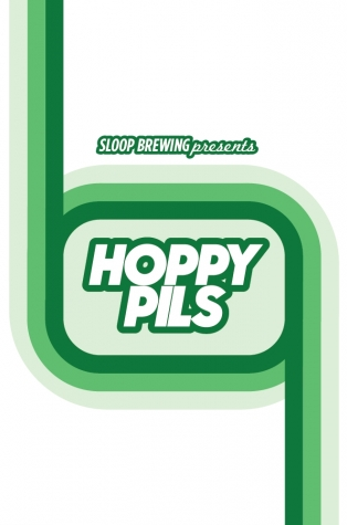 Sloop Hoppy Pils (4pack 16oz Cans)