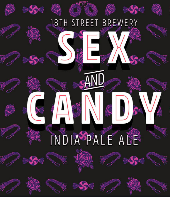 18th Street Sex and Candy (4pk 16oz cans)