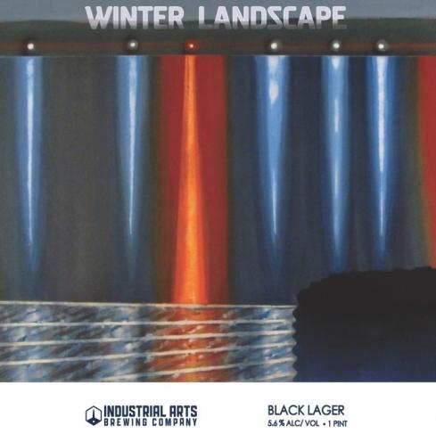 Industrial Arts Winter Landscape ( 4pk 16 oz cans)