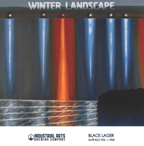 Industrial Arts Winter Landscape ( 4pk 16 oz cans)