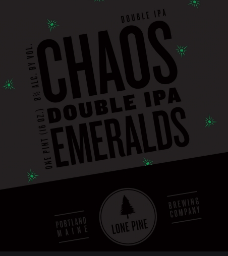 Lone Pine Chaos Double IPA (4pk 16oz cans)