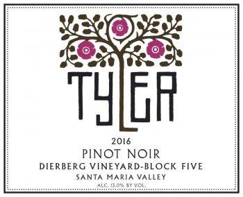 Tyler Block 5 Dierberg Vineyard Pinot Noir