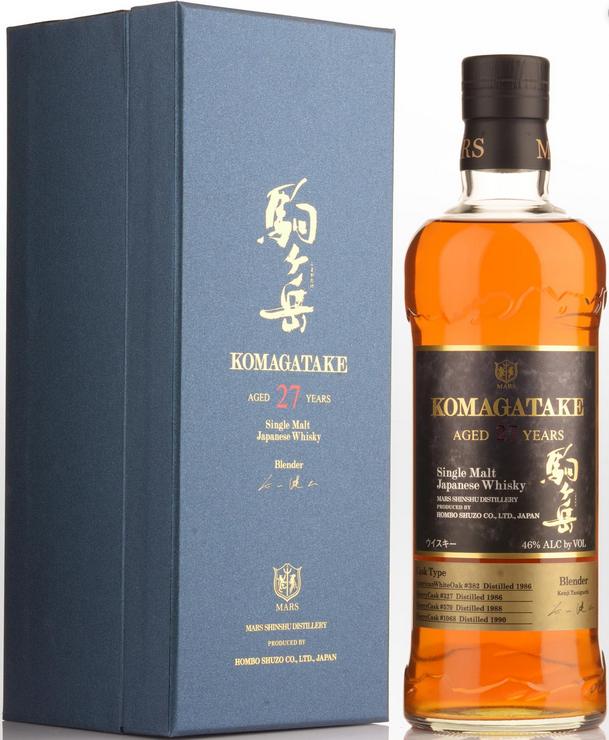 Mars Komagatake 27 Year Japanese Whisky