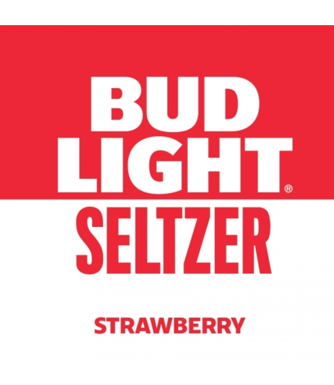 Bud Light Bud Light Seltzer Strawberry (12pk 12oz cans)