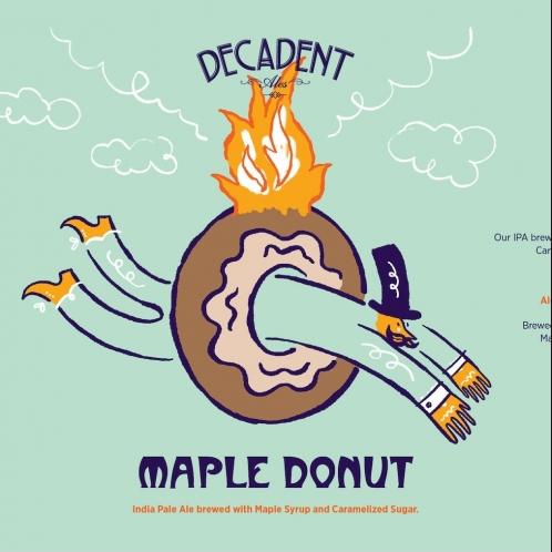 Decadent Ales NY Maple Donut (4pk 16 oz cans)