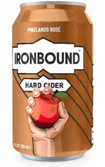 Ironbound Pinelands Rose (6pk 12oz cans)
