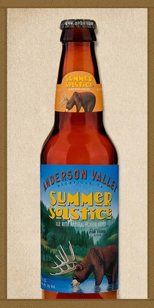 Anderson Valley Summer Solstice (6pk 12 oz cans)