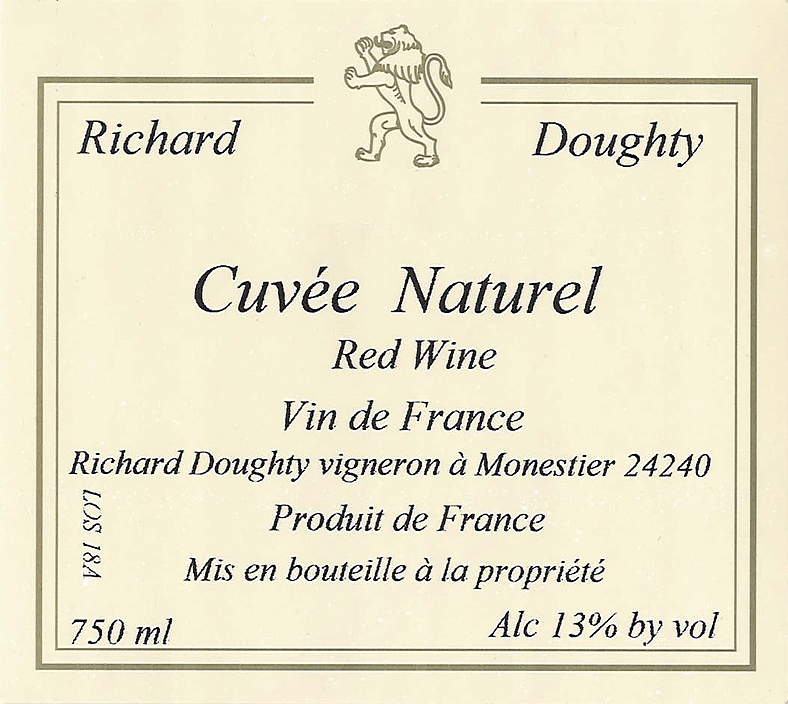 Richard Doughty Cuvee Naturel