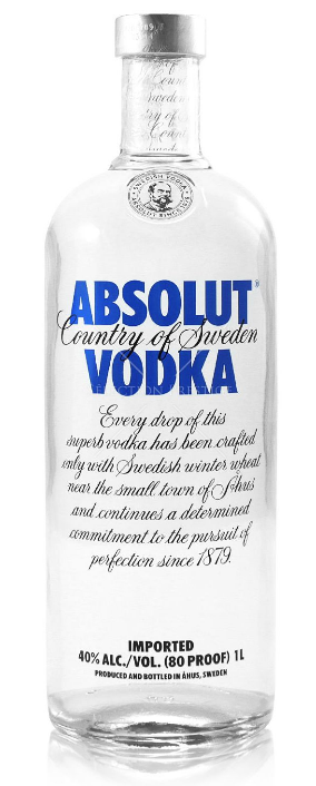 Absolute Vodka 750ml