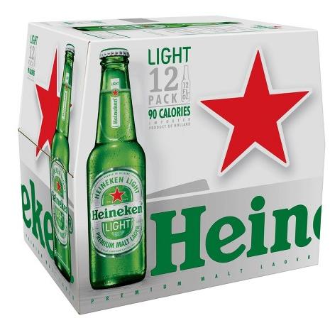 Heineken Light (12pk 12oz bottles)