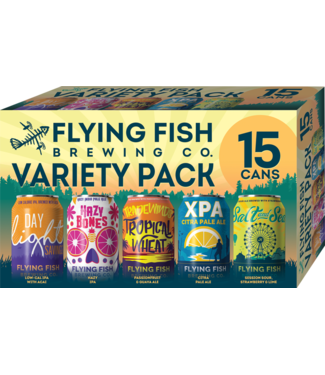 Flying Fish Flying Fish Variety Pack (15pk 12oz cans)