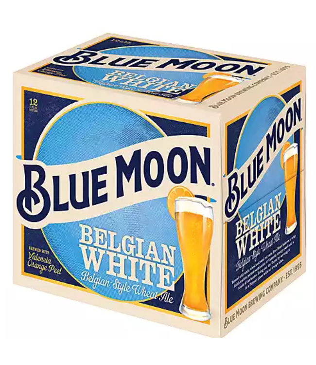 Blue Moon Blue Moon (12pk 12oz bottles)