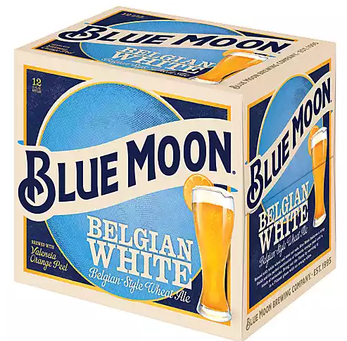 Blue Moon Blue Moon (12pk 12oz bottles)
