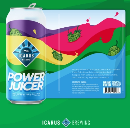 Icarus Power Juicer (2pk 16oz cans)