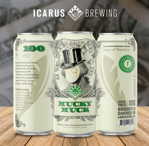 Icarus Mucky Muck (2pk 16oz cans)