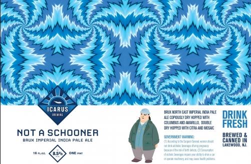 Icarus Not A Schooner (2pk 16oz cans)