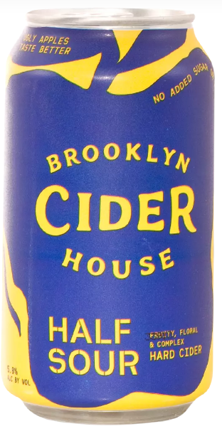 Brooklyn Cider Half Sour (4pk 12oz cans)