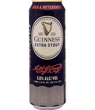 Guinness Extra Stout (19.2 oz Can)