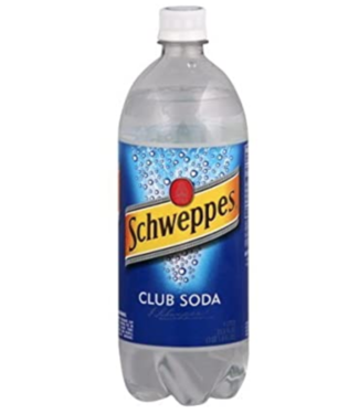 Schweppes Club Soda (1L)