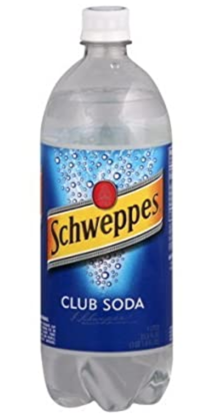 Schweppes Club Soda (1L)