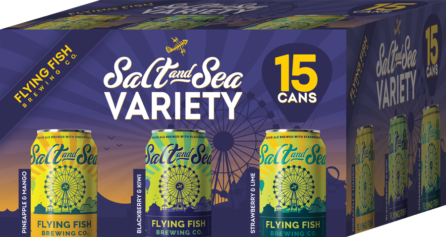 Flying Fish Salt and Sea (15pack 12oz cans)