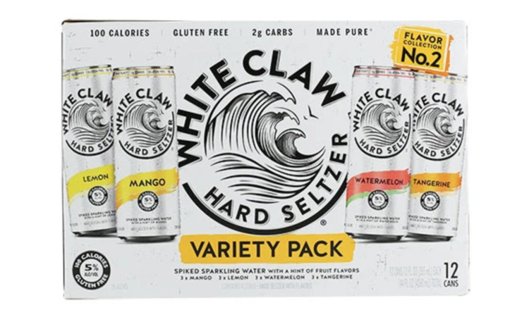 White Claw White Claw Variety #2  (12pk 12oz cans)