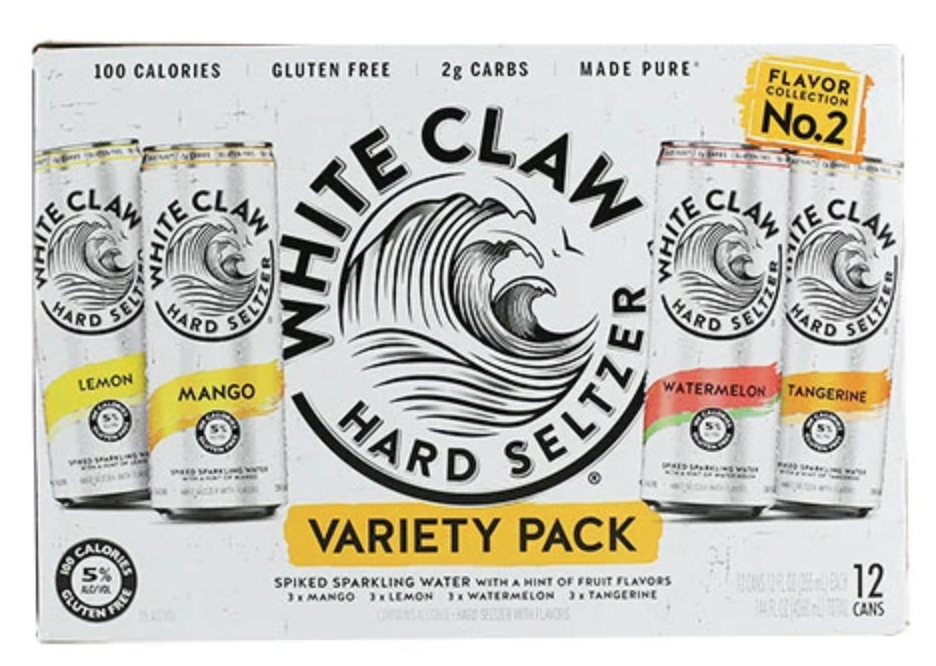 White Claw Variety #2  (12pk 12oz cans)