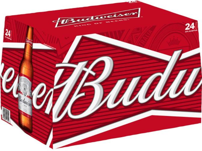 Budweiser Case (24pk 12oz bottles)
