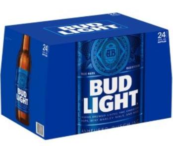 Bud Light Case (24pk 12oz bottles)
