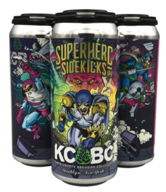 KCBC Superhero Sidekicks (4pk 16oz Cans)