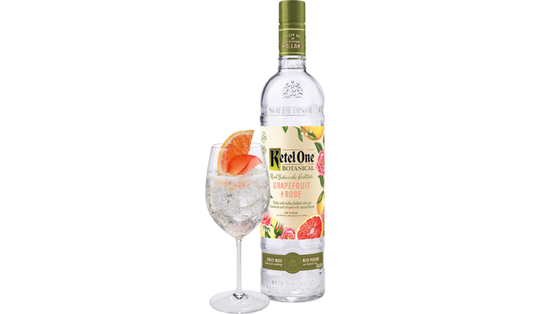 Ketel One Ketel One 'Grapefuit and Rose' Botanical Vodka 750ml
