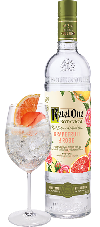 Ketel One 'Grapefuit and Rose' Botanical Vodka 750ml