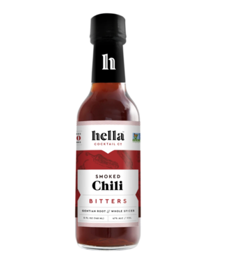 Hella Hella Smoked Chili Bitters (5oz)