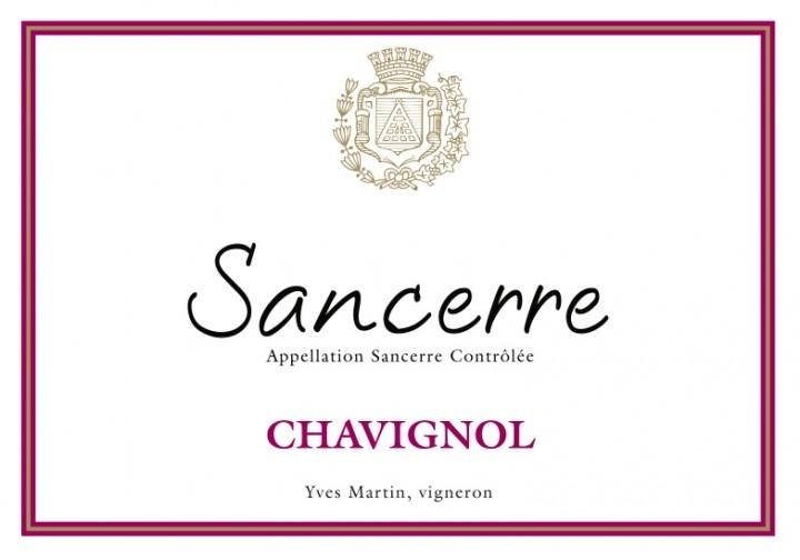 Yves Martin Sancerre Rose Chavignol
