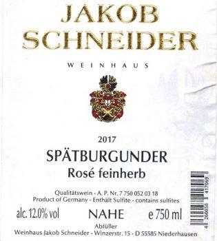 Schneider Spatburguder Rose