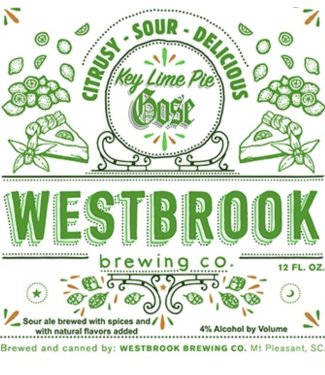 Westbrook Westbrook Key Lime Gose (4pk 12oz cans)