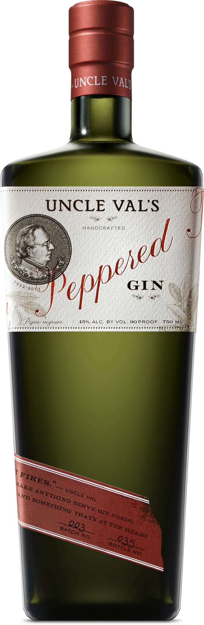 Uncle Vals Pepperd Gin 750ML