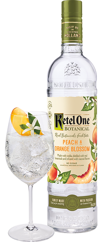 Ketel One 'Peach And Orange' Botanical Vodka 750ml