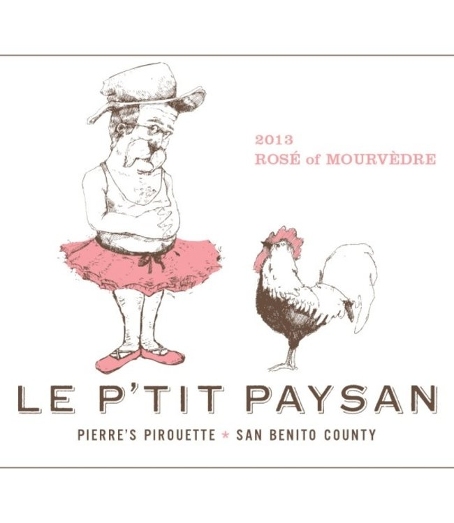 Le P'tit Paysan Central Coast Rose