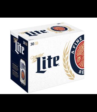 Miller Lite (30pk 12oz cans)