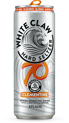 White Claw 70 Clementine (6pk 12oz cans)