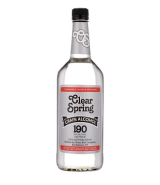 Clear Spring Clear Spring Grain Alcohol 750ml