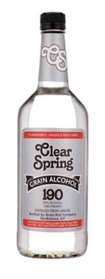 Clear Spring Grain Alcohol 750ml