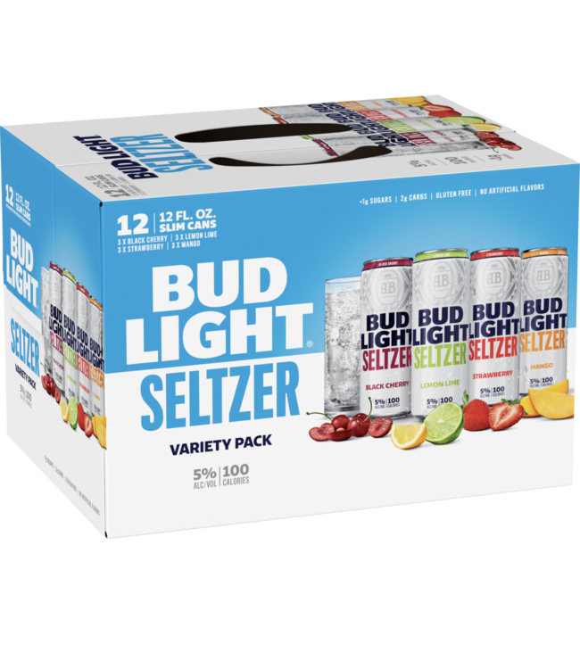 Bud Light Bud Light Seltzer Variety Pack (12pk 12oz cans)