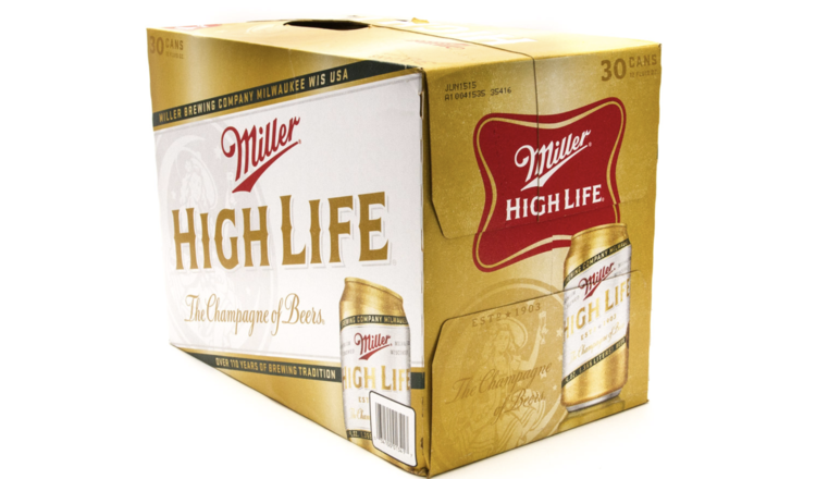 Coors Miller High Life (30pk 12oz cans)