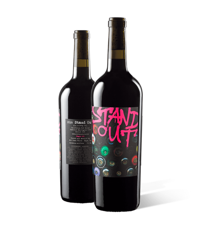 Slow Down Wines Stand Out Red