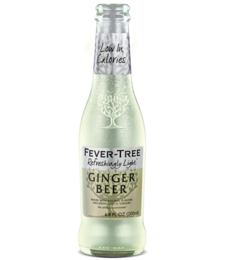 Fever Tree Light Ginger Beer (4pk 200ml Bottles)